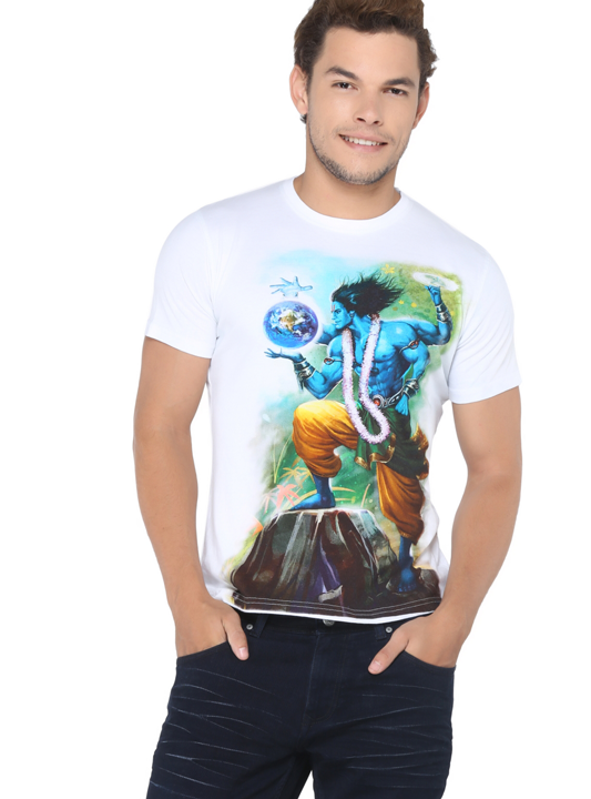 Lord Vishnu Preserver Earth Tee (Dashaavatar Series)