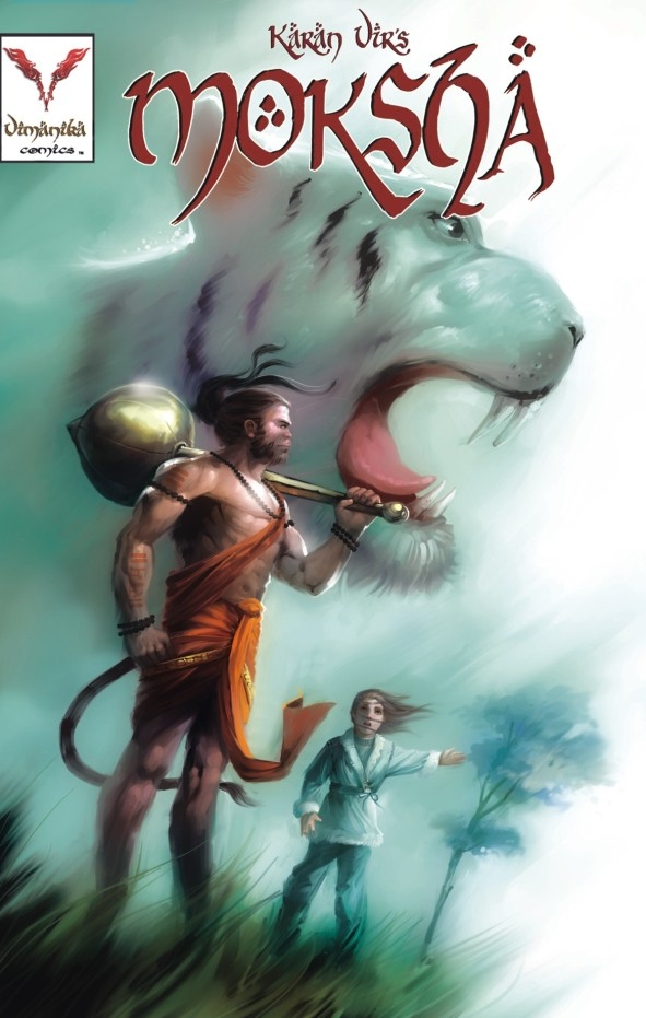 Moksha # 03 Cover Vimanika Comics